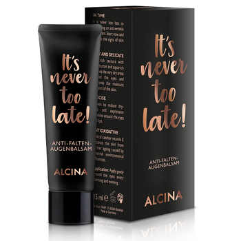 Alcina It's never too late! Anti-Falten-Augenbalsam 15 ml