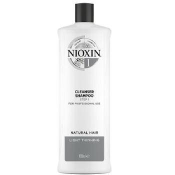 Wella Nioxin System 1 Cleanser Shampoo Step 1 1000ml - Neu