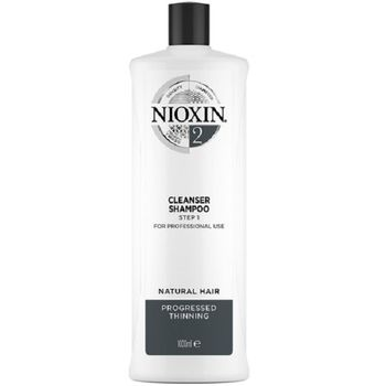 Wella Nioxin System 2 Cleanser Shampoo Step 1 1000 ml - Neu