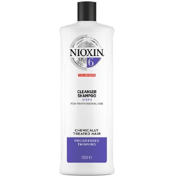 Wella Nioxin System 6 Cleanser Shampoo Step 1 1000ml - Neu