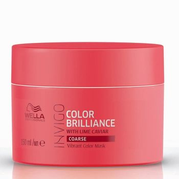 Wella Invigo Color Brilliance Geschenkset + Shampoo 250 ml + Conditioner 200 ml + Mask 150ml + Shampoo 50 ml + Kosmetikbeutel  – Bild 5