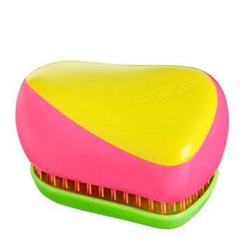Tangle Teezer Compact Styler Kaleidoscope (Pink/Gelb) - Haarbürste – Bild 1