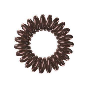 Invisibobble ORIGINAL Pretzel Brown - Haargummi 3 Stück – Bild 2