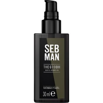 Sebastian SebMan The Groom 30ml - Hair & Beard Oil