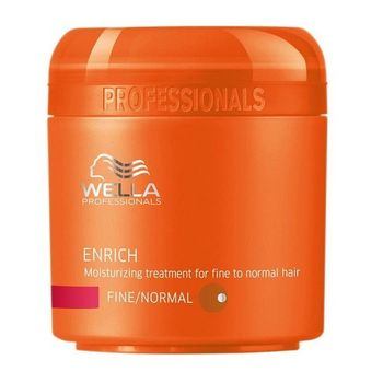 Wella Care Enrich Mask 150ml normales, feines Haar