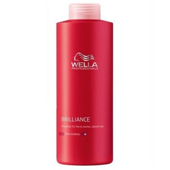 Wella Care Brilliance Haarshampoo 1000ml feines bis normales coloriertes Haar