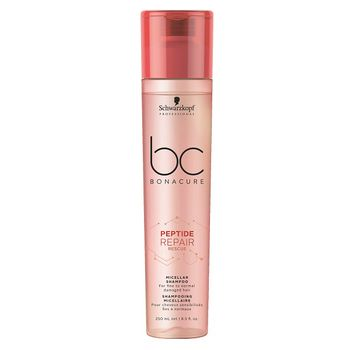 Schwarzkopf BC Bonacure Peptide Repair Rescue DUO Set - Shampoo 250ml + Spray Conditioner 200ml – Bild 2
