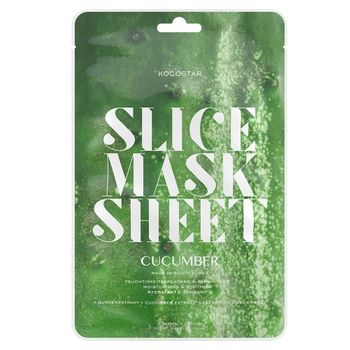 Kocostar Slice Mask Sheet Cucumber Pack