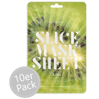 Kocostar Slice Mask Sheet Kiwi 10er Pack – Bild 1
