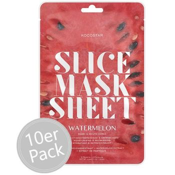 Kocostar Slice Mask Sheet Watermelon 10er Pack – Bild 1