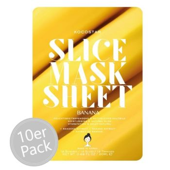 Kocostar Slice Mask Banana 10er Pack