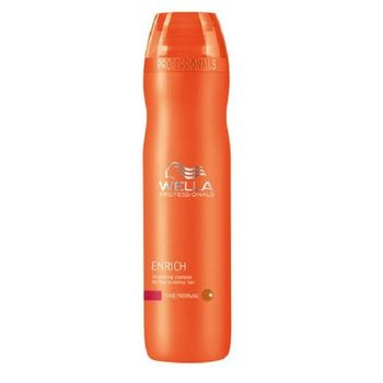 Wella Care Enrich Haarshampoo 250ml normales, feines Haar