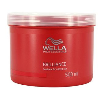 Wella Care Brilliance Mask 500ml kräftiges coloriertes Haar