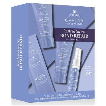 Alterna Caviar Anti-Aging Restructuring Bond Repair Consumer Trial Kit