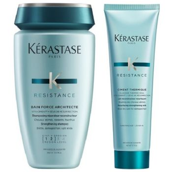 Kerastase Resistance Set - Bain Force Architecte 250ml + Ciment Thermique 150ml – Bild 1