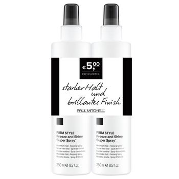 Paul Mitchell Styling Freeze and Shine Super Spray Duo 2 X 250ml – Bild 1