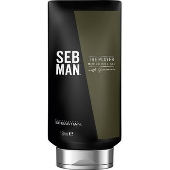 Sebastian SebMan Set - The Multitasker 3in1 Shampoo 250 ml + The Player 150 ml - Gel – Bild 3