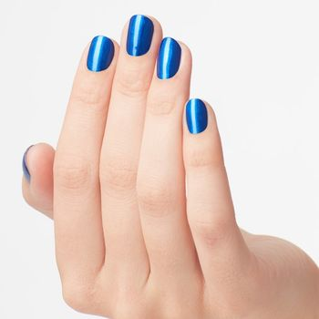 OPI Nail Lacquer 15 ml - NLB24 - Blue My Mind – Bild 4