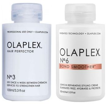 Olaplex Set - Hair Perfector No. 3 + Bond Smoother No. 6 – Bild 1