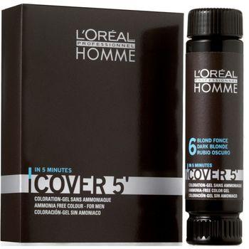 L'Oréal Homme Cover 5 - 4 Mittelbraun 3x50ml