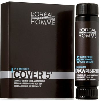 L'Oréal Homme Cover 5 - 6 Dunkelblond 3x50ml