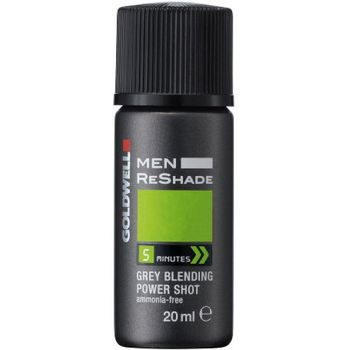 Goldwell Men Reshade 5CA 4 x Shots 20 ml - hell-aschbraun – Bild 2