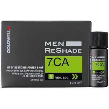 Goldwell Men Reshade 7CA 4 x Shots 20 ml - mittel-aschblond – Bild 1