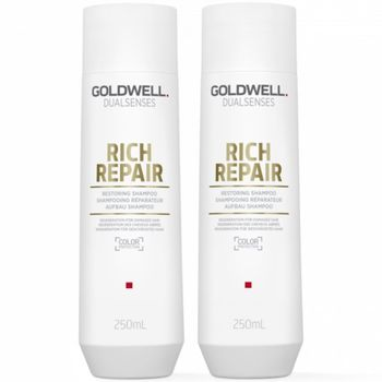 Goldwell Dualsenses Rich Repair Restoring Set (2x 250ml) - Shampoo