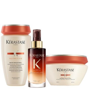 Kérastase Nutritive Set - Bain Magistral 250 ml + Masque Magistral 200 ml + 8H Magic Night Serum 90 ml – Bild 1