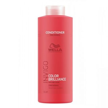 Wella Invigo Color Brilliance Fine/Normal Set - Shampoo 1000ml + Conditioner 1000 ml – Bild 3