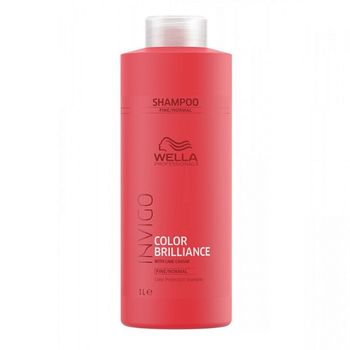 Wella Invigo Color Brilliance Fine/Normal Set - Shampoo 1000ml + Conditioner 1000 ml – Bild 2