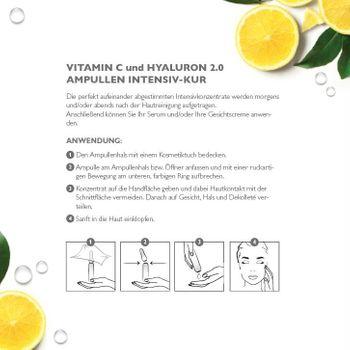 Alcina Hyaluron 2.0 / Vitamin C - Ampullen-Kur - 10x1ml - Geschenkverpackung ALLES LIEBE – Bild 4