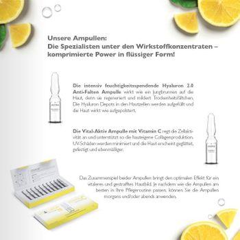Alcina Hyaluron 2.0 / Vitamin C - Ampullen-Kur - 10x1ml - Geschenkverpackung ALLES LIEBE – Bild 5