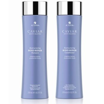 Alterna Caviar Anti-Aging Restructuring Bond Repair Set - Shampoo 250 ml + Conditioner 250 ml – Bild 1