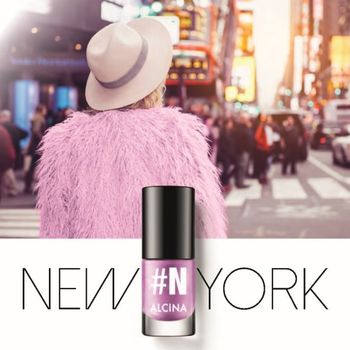 Alcina Nail Colour 5 ml - New York 010 – Bild 2