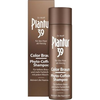 Plantur 39 Color Braun Phyto-Coffein-Shampoo 250 ml