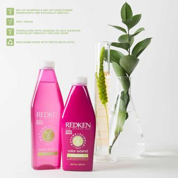Redken Nature + Science Color Extend Shampoo 50 ml – Bild 4