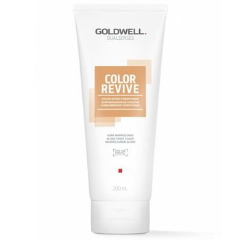 Goldwell Dualsenses Color Revive Conditioner - Warmes Dunkelblond 200 ml