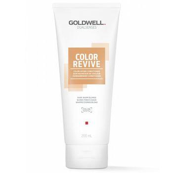 Goldwell Dualsenses Color Revive Conditioner - Warmes Dunkelblond 200 ml