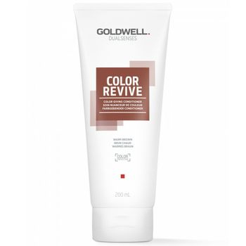 Goldwell Dualsenses Color Revive Conditioner - Warmes Braun 200 ml