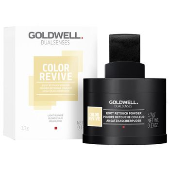 Goldwell Dualsenses Color Revive Ansatzkaschierpuder - Hellblond 3,7 g – Bild 2