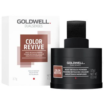Goldwell Dualsenses Color Revive Ansatzkaschierpuder - Mittelbraun 3,7 g – Bild 2