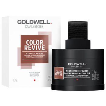 Goldwell Dualsenses Color Revive Ansatzkaschierpuder - Mittelbraun 3,7 g – Bild 2