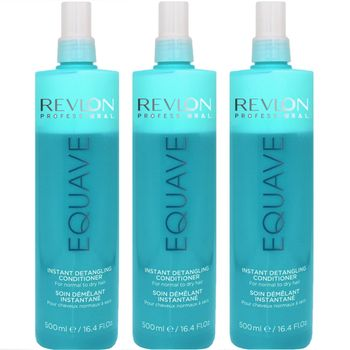 Revlon Equave Hydro Nutritive Detangling Conditioner 3x 500 ml