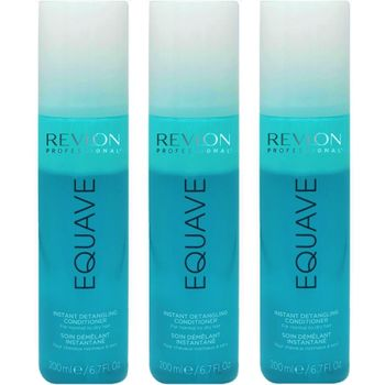 Revlon Equave Hydro Nutritive Detangling Conditioner 3x 200 ml