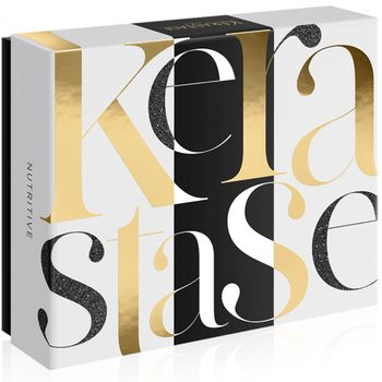 Kérastase Nutritive Xmas-Set - Bain Satin 1 250 ml + Nectar Thermique 150 ml + Lait Vital Pflege Creme 200 ml – Bild 2