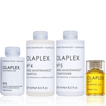 Olaplex Set - Hair Perfector No. 3 + Shampoo No. 4 + Conditioner No. 5 + Bonding Oil No.7