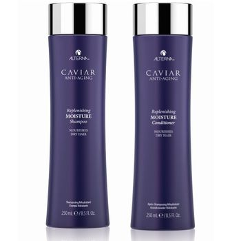 Alterna Caviar Anti Aging Replenishing Moisture Duo Geschenkset - Shampoo 250 ml + Conditioner 250 ml + Kosmetikbeutel – Bild 3
