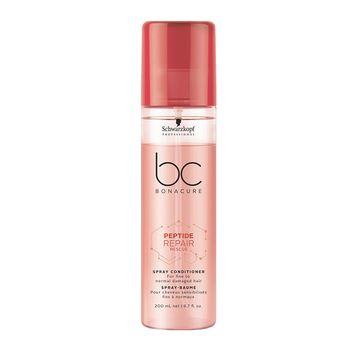 Schwarzkopf BC Bonacure Peptide Repair Rescue Geschenkset - Shampoo 250 ml + Spray Conditioner 200 ml + Treatment 200 ml – Bild 3