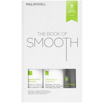 Paul Mitchell The Book of Smooth - Shampoo 300 ml + Conditioner 300 ml + Serum 150 ml